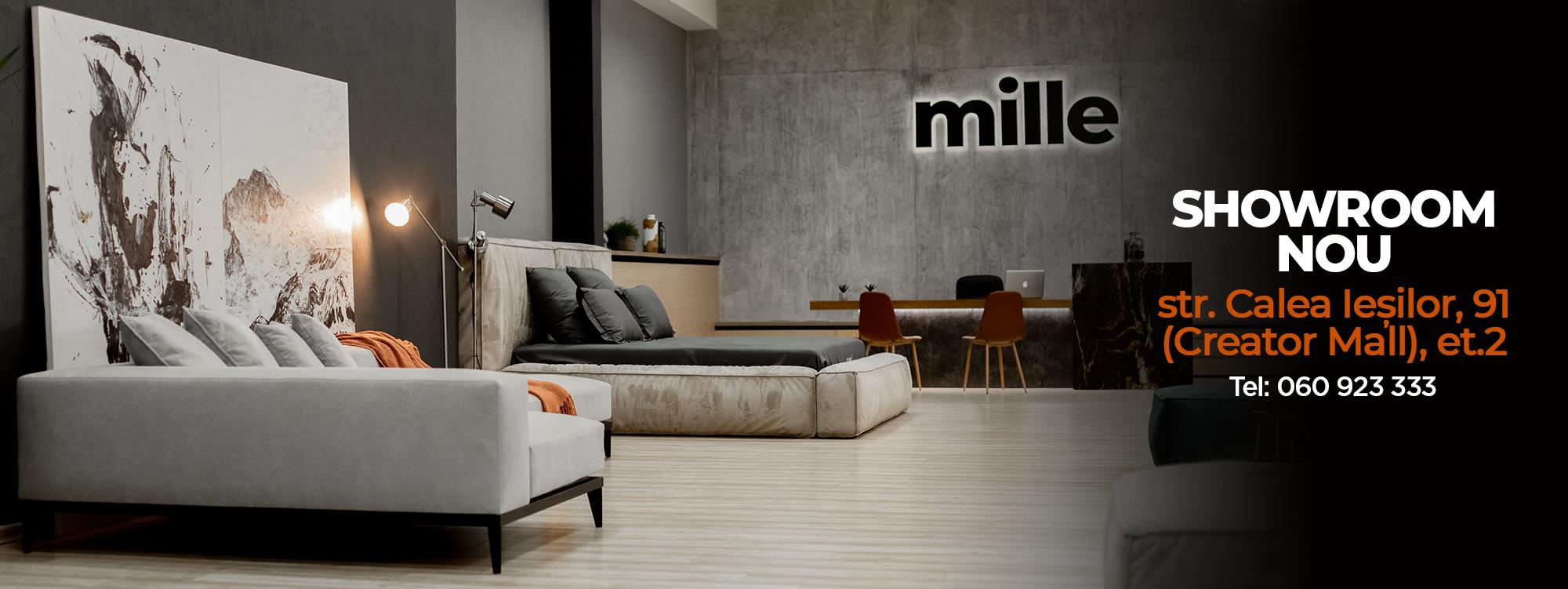 Canapea modulară colțar Mille
